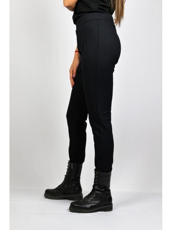 Еластичен панталон от плътна тъкан