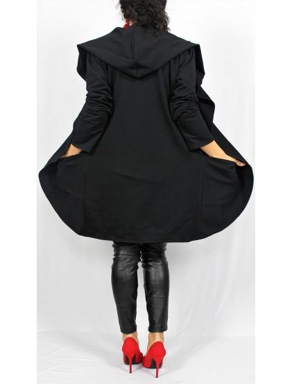 Жилетка от трико  черна