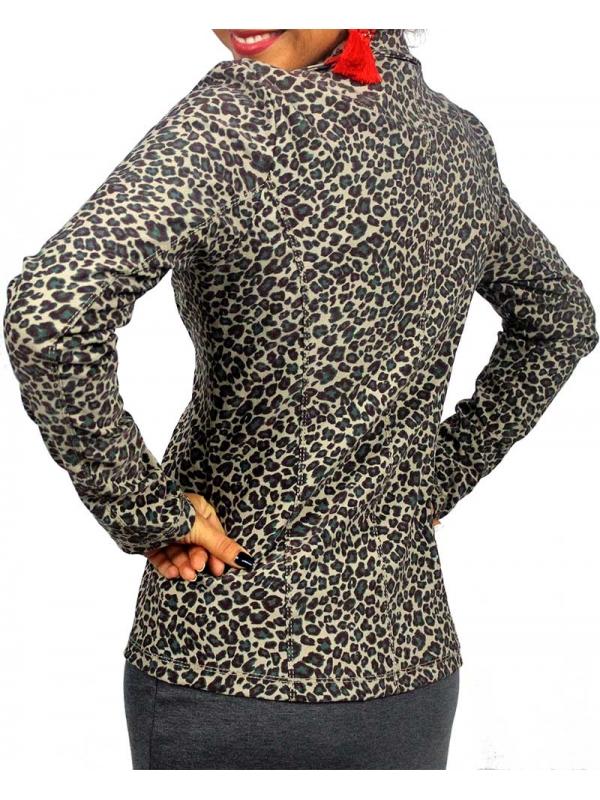 Сако леопард