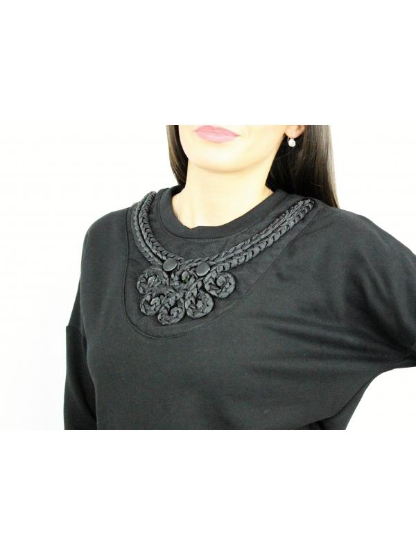 RDI  Блуза - суитшърт в черно