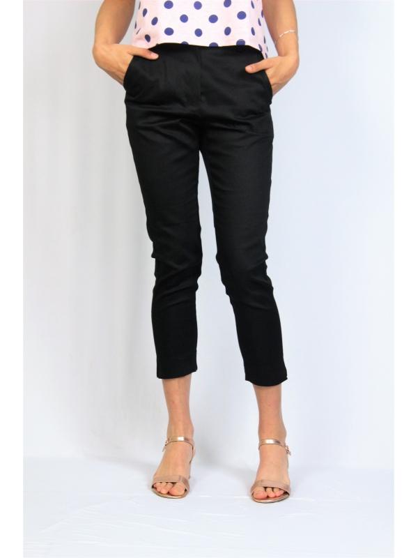 Панталон с цепки черен