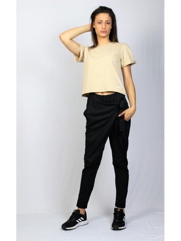 Блуза памук бежова