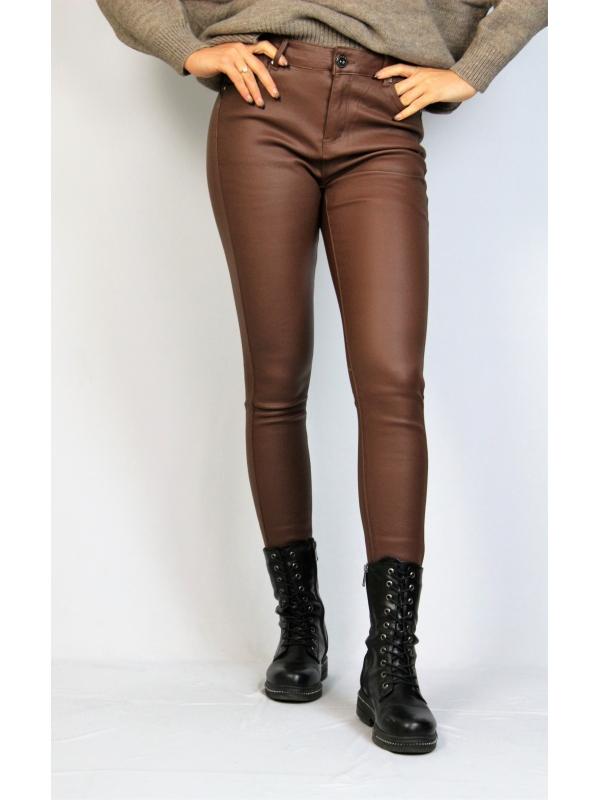 Спортен панталон с бели кантове черен