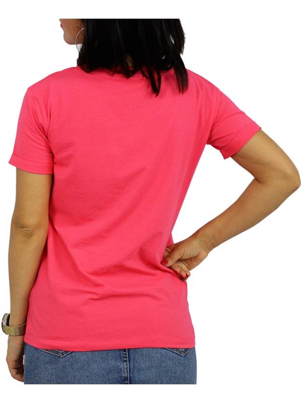 Тениска щампа корал