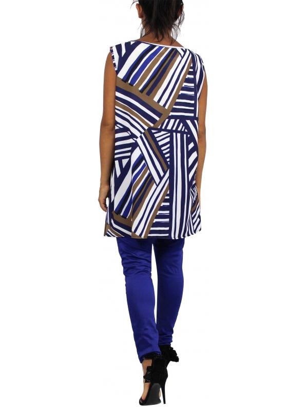 Потник-туника в синьо
