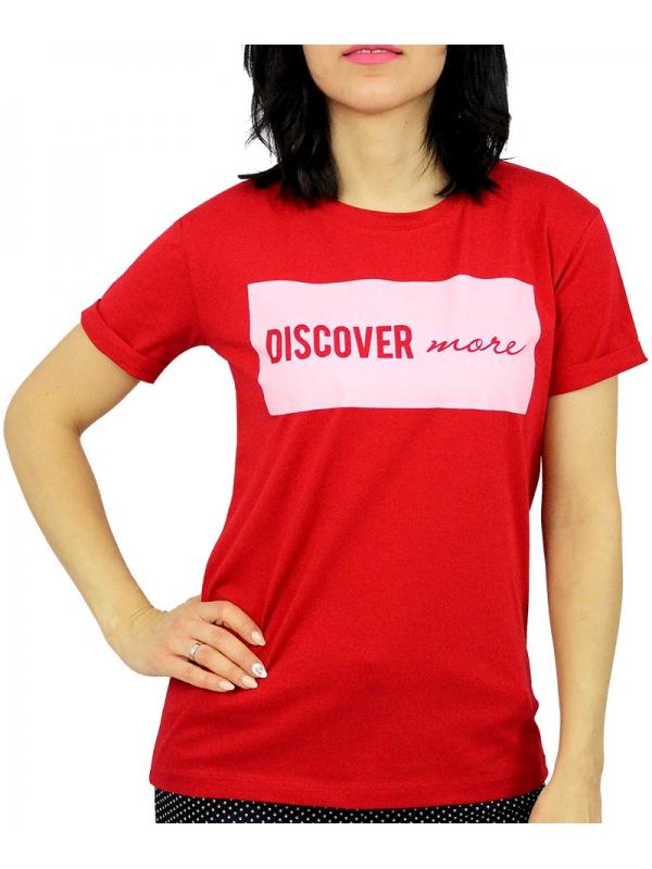 Тениска червена