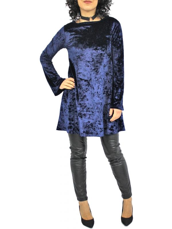 Рокля - туника Брилянт синя