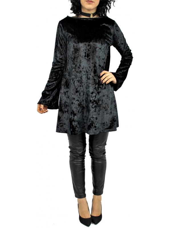 Рокля - туника Брилянт черна