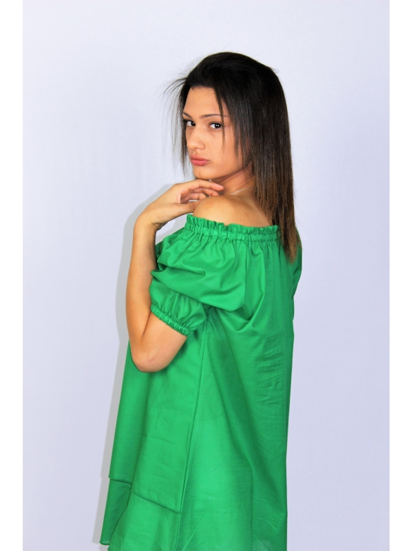 Туника зелена