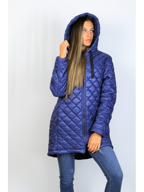 Асиметрично яке в синьо