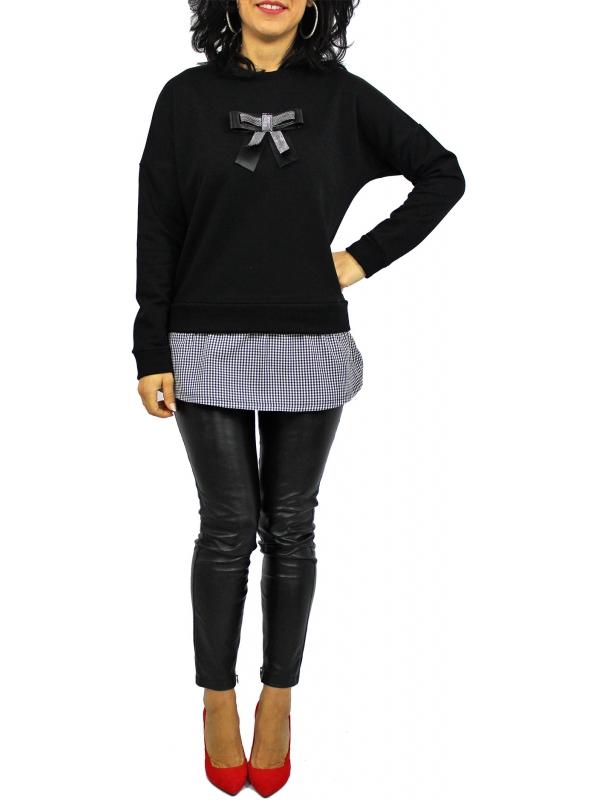 RDI  Блуза -туника пандела черна